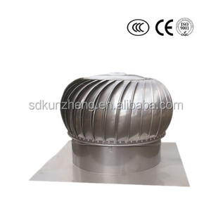 600mm industrial no power roof top turbine ventilation exhaust fan