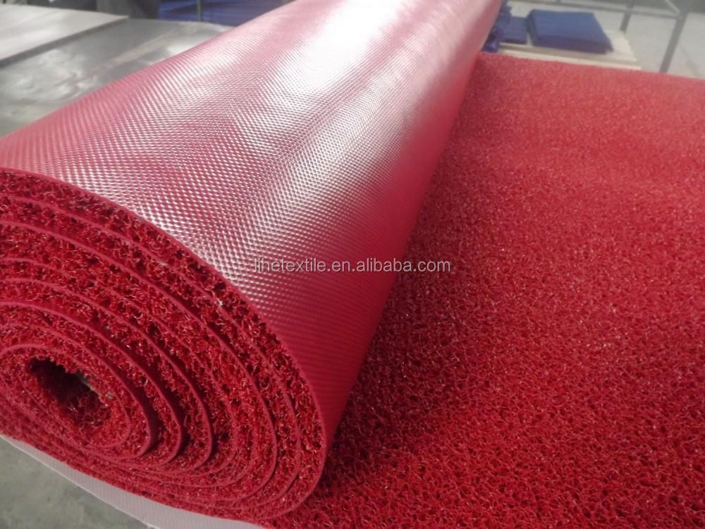 Pvc Coil Floor Mat Loop Type Automative Carpet Roll