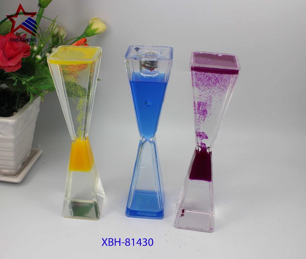 Unbreakable Plastic Reversing Flowing Non Toxic Liquid