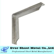 OEM design metal bracket fabrication stainless steel L brackets
