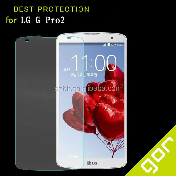 manufacture price for lg g4 mobile phone tempered glass screen protector