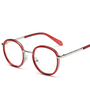 89646a0829 Large Size Oversized Retro Vintage Round Eyeglass Frame Black Brown Leopard  Optical Spectacles Glasses Prescription 107201