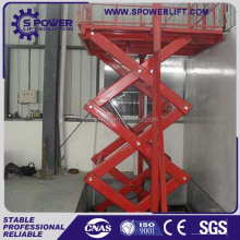 Heavy duty hydraulic scissor lift/car lifter with best selling price/scissor lift home elevator