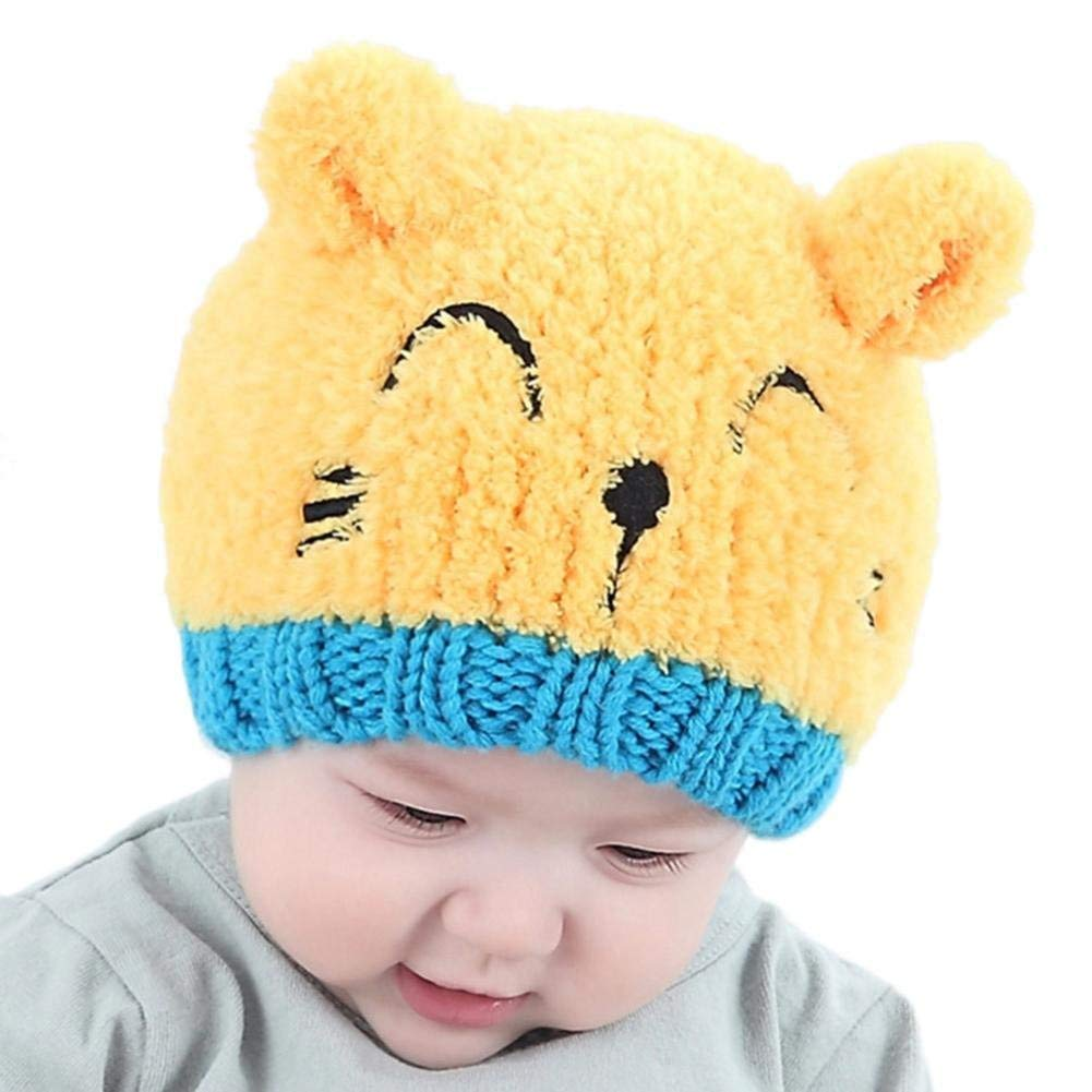 061f4470a206b Orangeskycn Kids Hats Boys Kids Hats Girls Knitted Cap for Baby Warm Hat  Soft Hat Toddler