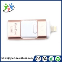 2016 new technology microphone and PC custom logo bussiness gift otg usb flash disk