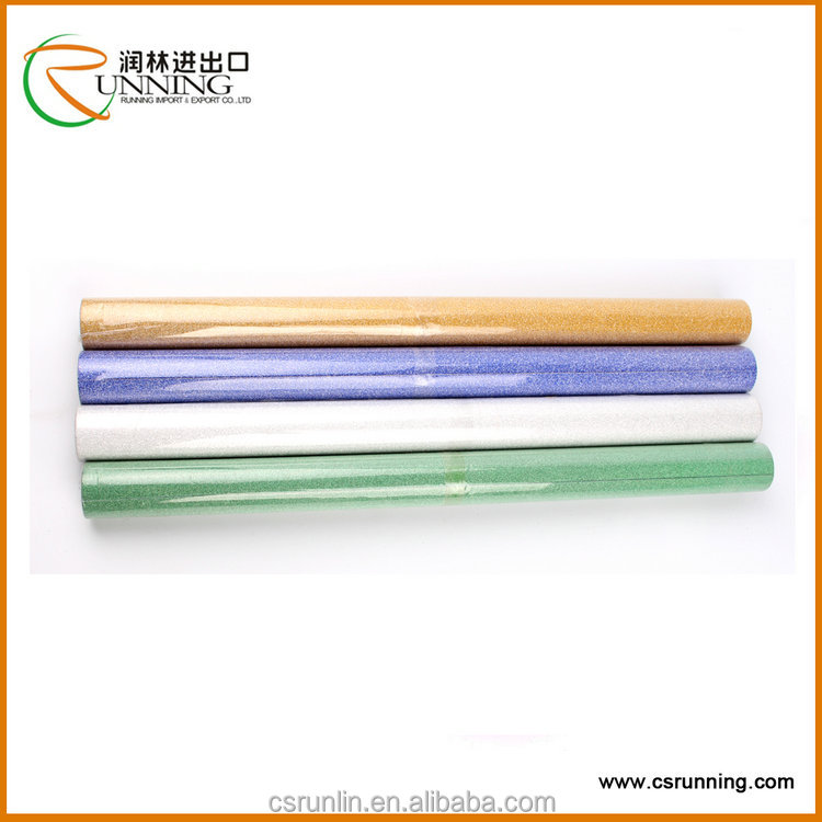 Hot sale PP/PVC glitter film for packing