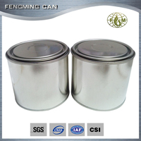 buy empty tin cans paint round tin box oem