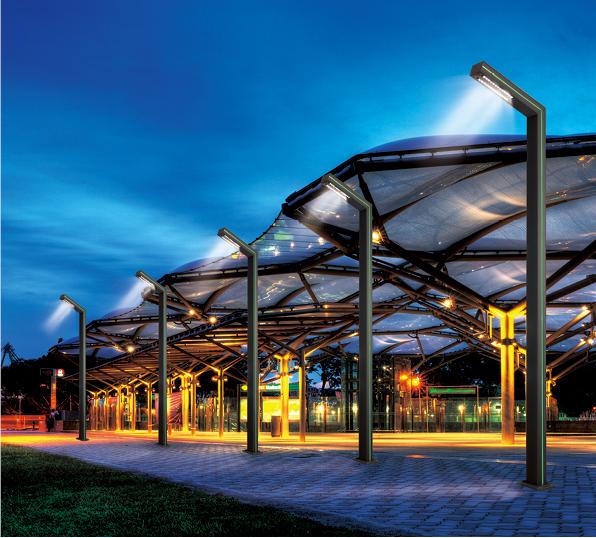 Fabrik direkt moderne stil gartenlaterne led landschaft beleuchtung ...