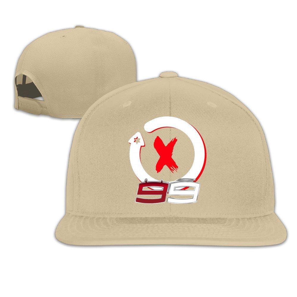 Velcro Cotton Baseball Caps Hat Jorge Lorenzo Devil Angel 99 Logo Embordiery