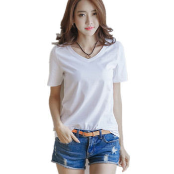teen girl cheap free shipping silk t shirt producer for lady