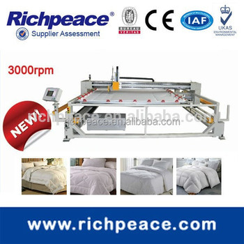 Richpeace Automatic Single Needle Mattress Quilting Machine
