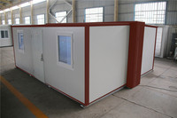 Luxury Malaysia in free design prefabricated fold container house