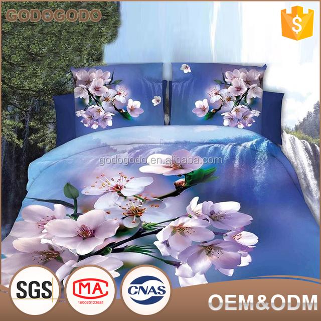 Wholesale Peice Oem Design Your Own Bed Sheets Flower Design Luxury Wedding Bedding  Set