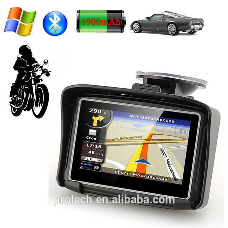 New Product Android Waterproof Gps Navigator For Motorcycle Car Bike