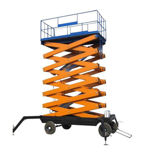 hydraulic mobile scissor lift easy operation