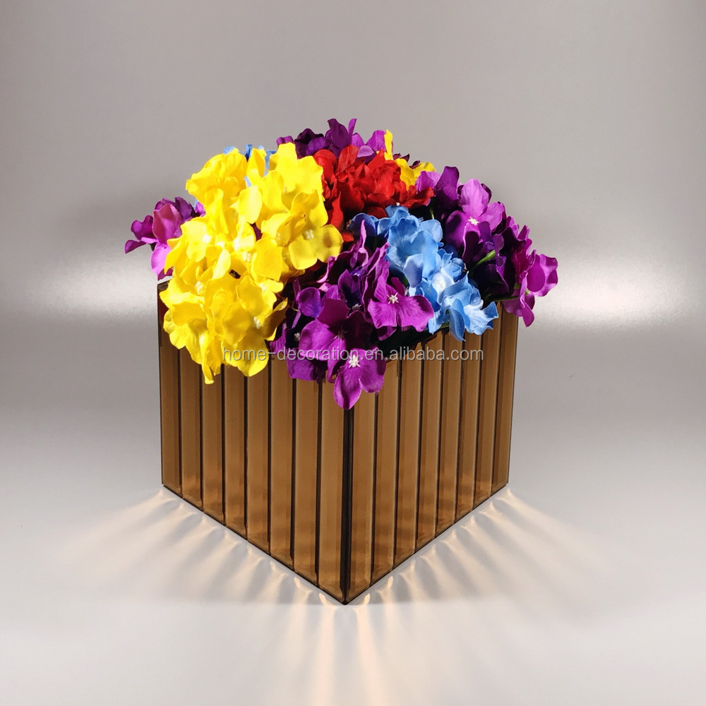 Mirror cube vase mirror cube vase suppliers and manufacturers at mirror cube vase mirror cube vase suppliers and manufacturers at alibaba floridaeventfo Image collections