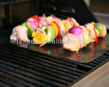 BBQ Grill Mat-A Miracle Barbecue solution for Gas, Charcoal or Electric Grill - Perfect for Grilling Ribs, Shrimps, Steaks