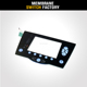 custom touch screen back light membrane keyboard embossed button keypad