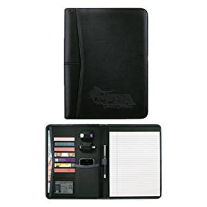 Palm Beach Pedova Black Writing Pad 'Primary Mark Engraved'