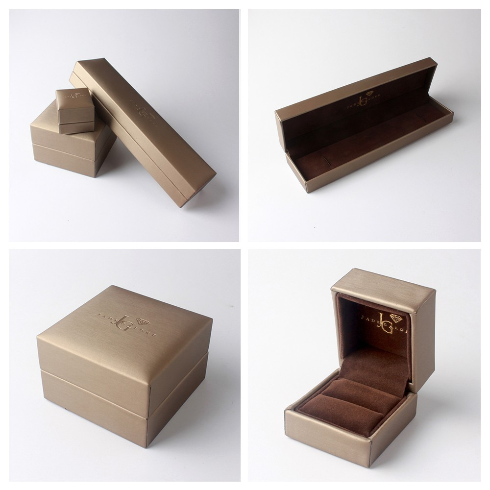 Luxury gift paper ring box for jewelry packing