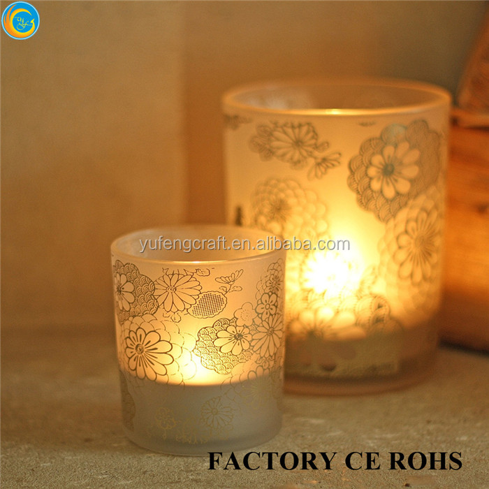 online tall candle holders for weddings/ wedding decoration flower stand/copper candle jar