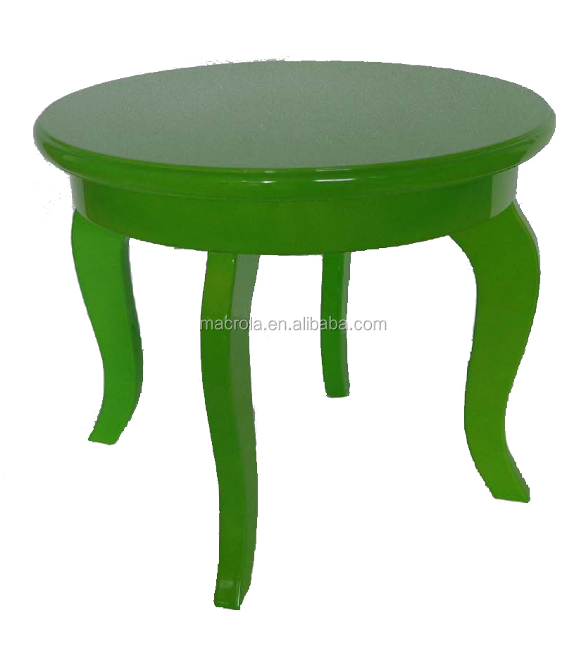 PU high gloss side table/coffe table for garden/lving room set