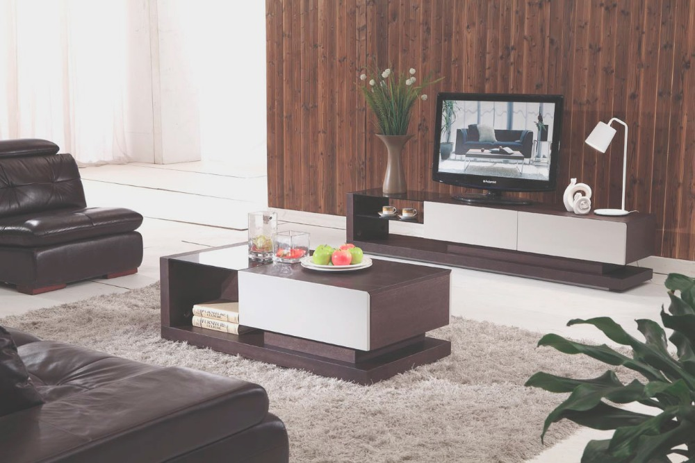 Living Room Furniture Modern Sofa Center Table Design
