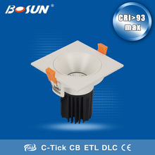 15w high brightness Led COB downlight the assemble products at home