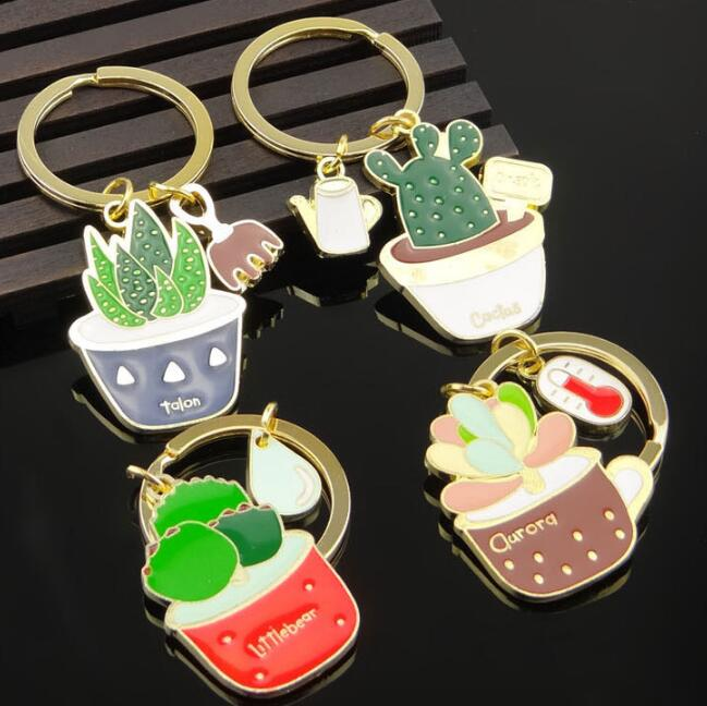 Custom logo Multi-meat key chain/ plant key ring(HH-key chain-1519)