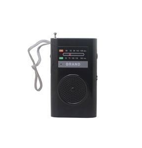 factory cheap AA battery operate portable, home radio am fm type radio