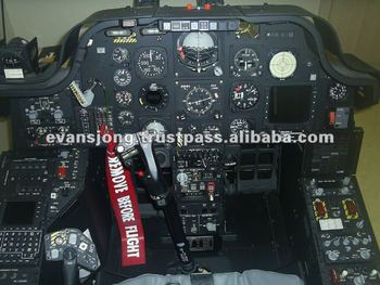 Apache Helicopter Ah-64b Cockpit Real Copy - Buy Apache
