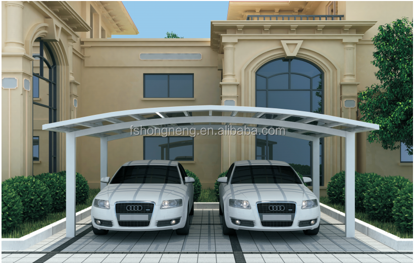 Alibaba china manufacturer single slope aluminum carport for Single slope carport