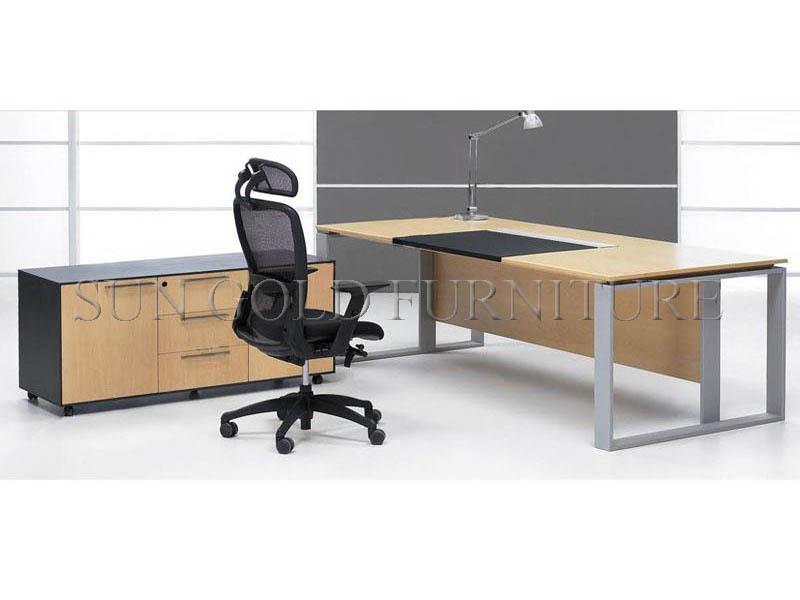 Moderno mobiliario de oficina, escritorio de oficina secretaria ...