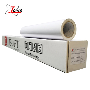 Wholesale printing material pvc adhesive paper rolls vinyl sticker
