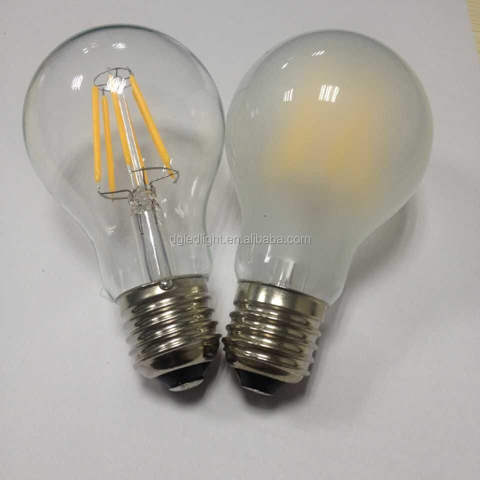 retro style Edison filament led with copper base E26 <strong>E27</strong>
