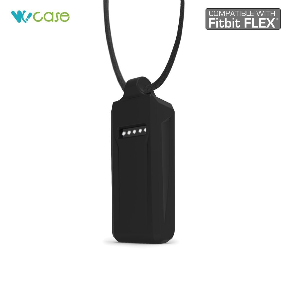 One Size, Fits Most Wrist for Fitbit One WoCase Pendant Necklace Activity and Sleep Tracker Wristband Band Bracelet Classic Style Best Gift for Fitbit One User