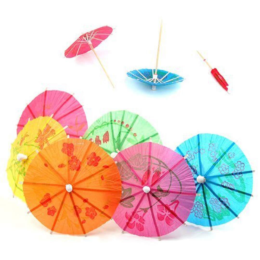 random Color Toys & Hobbies Buy Cheap 144 Pcs Paper Cocktail Parasols Umbrellas Drinks Picks For Wedding Event Party Supplies Holidays Luau Sticks