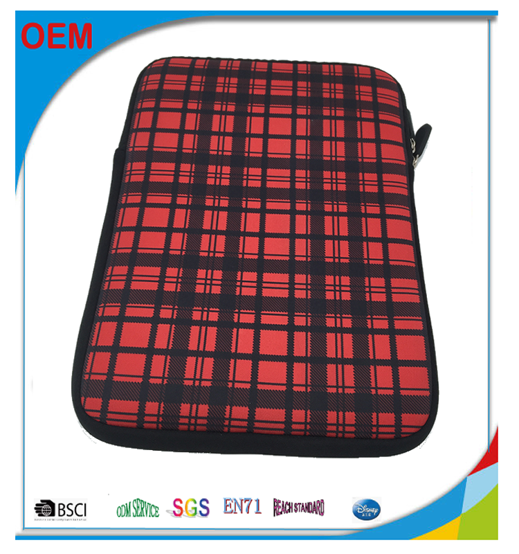 "Handy neoprene laptop case, neoprene 13"" laptop bag, neoprene laptop sleeve promotion"