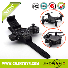 2017 New Function of Watch-control drone,mini pocket rc toy four-axis drone, 2.4G radio control drone with watch