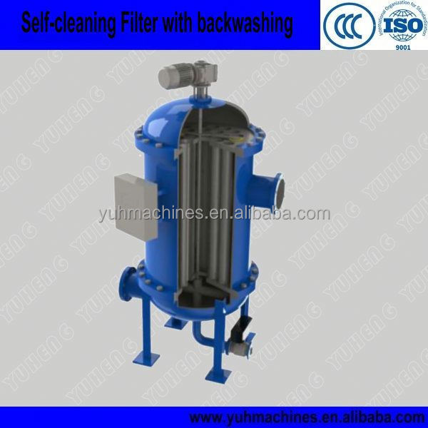 Self-Cleaning Ballast Water Filter/River Water Automatic Back Flush Filter