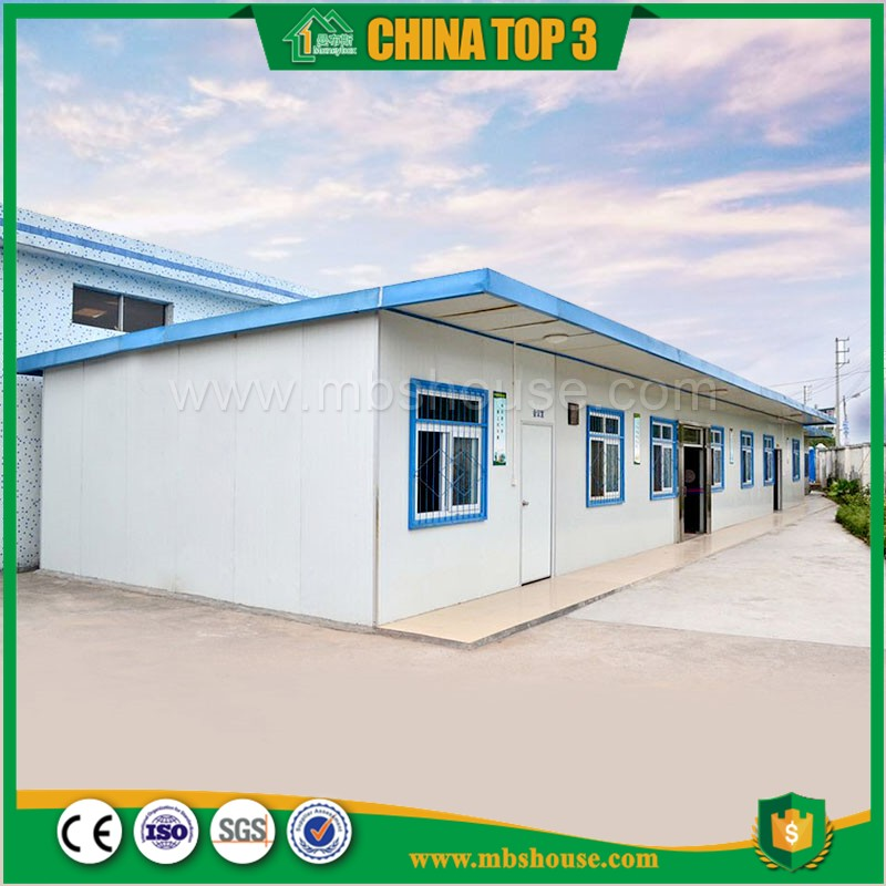 Good looking Economic steel structure , new design modular easy install flat roof prefab house with CE