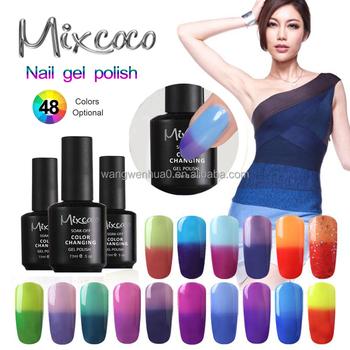 2017 Eco Friendly Nontoxic 7 5ml 15ml Soak Off Uv Led Color Change Gel Nail Polish Buy Nail Polish Uv Gel Gel Nail Polish Gel Nail Polish Product On