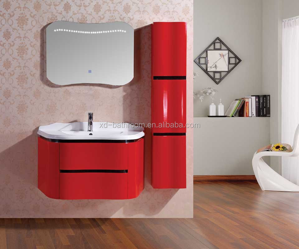 2016 Modern Bathroom Cabinet with LED mirror