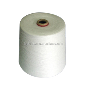 Raw white 50/2 & 50/3 100% polyester yarn for sewing thread