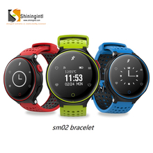 healthy waterproof sports fitness smart heart rate monitor blood pressure bluetooth smartband bracelet