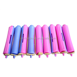Beauty Salon Equipments Plastic Hair Rollers Perm Rods