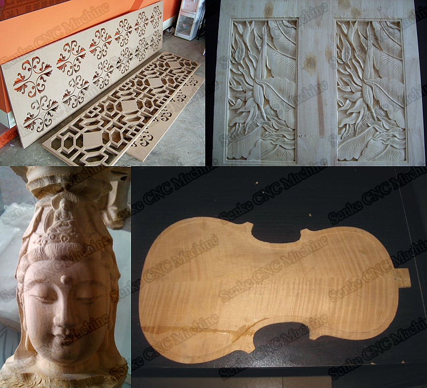 wood machine auction
