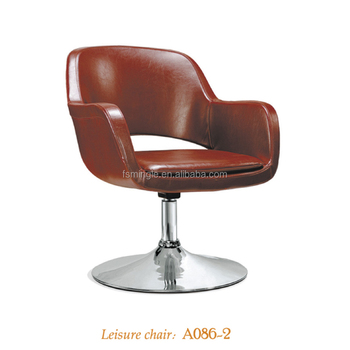 Fabric Or Pu Cover Swivel Tub Chair With Different Type Of Base
