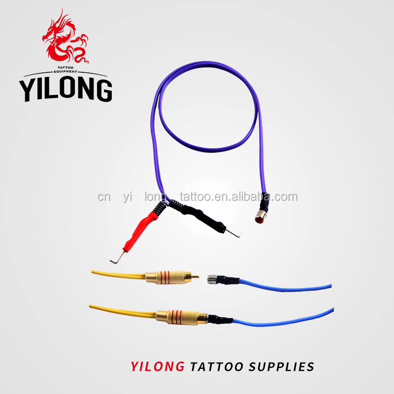 Red Silicone Clipcord High Quality Tattoo Clipcord