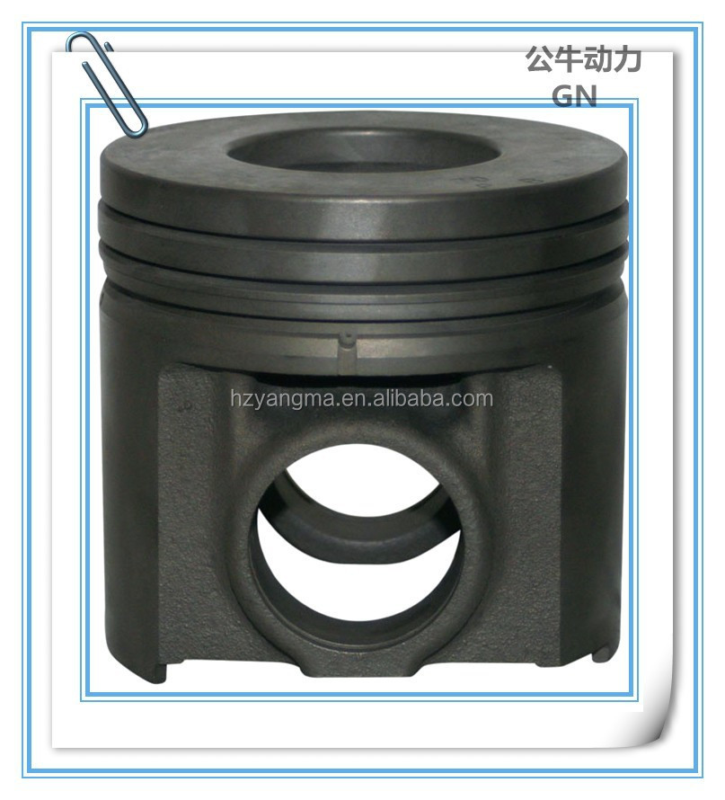 S6D155 6127-31-2140 Piston For Diesel Engine Spare Parts